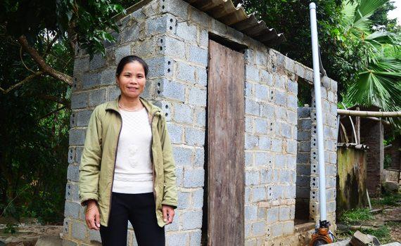 Building toilets to improve health in rural Vietnam