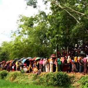 Rohingya refugee crisis.