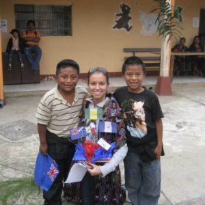 ChildFund staff member Anne in Guatemala