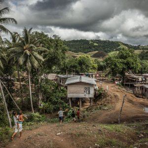 Village in rural Papua New Guinea